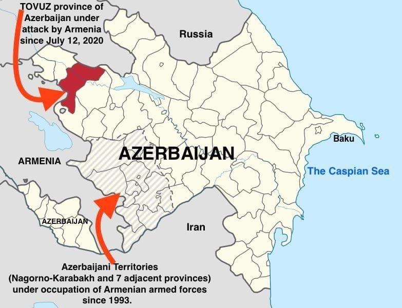 Tovuz Map